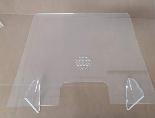 Protezione in metacrilato trasparente, leggera e facile da installare, per negozio, ospedale, negozio, supermercato, ristorante, stagno