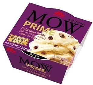 森永乳業 MOW PRIME ゴールドラムレーズン 発酵バターの香り140ml×18個