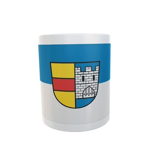 U24 Tasse Kaffeebecher Mug Cup Flagge Lahr (Schwarzwald)