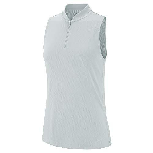 Nike Golf Dry Polo Sleeveless Blade Pure Platinum/Pure Platinum XL