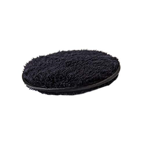 Démaquillants Visage éponge Douce Coton démaquillant Chiffon en Poudre feuilleté lingettes nettoyantes pour Le Visage Serviettes lavables réutilisables (Color : Black, Taille : 4.7 * 4.7 * 0.7inch)
