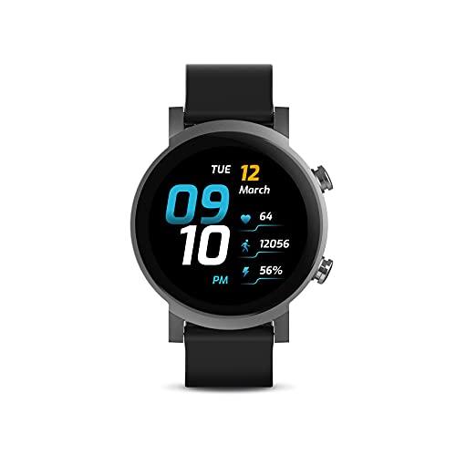 TicWatch E3 Wear OS by Google スマートウォッチ Snapdragon Wear 4100 電話発着信/LINE通知 GPS内蔵 睡眠トラッキング IP68防水 軽量 iOS/Android対応 ブラック