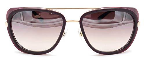 Matsuda M3023 Iron Man 3 Tony Stark Sunglasses in Burgundy (smaller size)