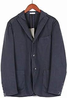 [ボリオリ] 3B シングルテーラード ジャケット ネイビー 220-21710 イタリア製 コットン メンズ