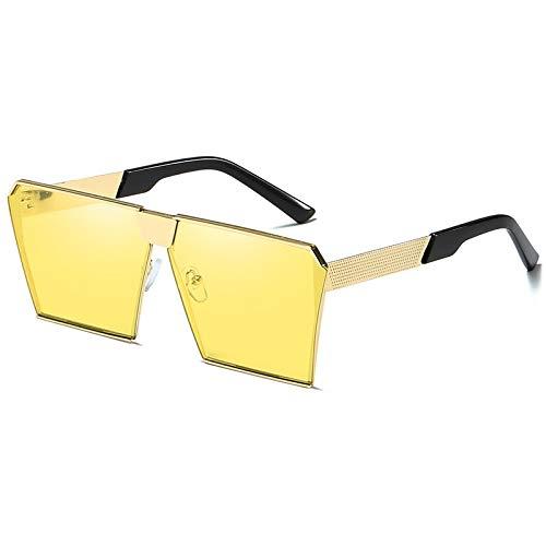 Duulo Gafas de sol cuadradas para mujer Gafas de sol