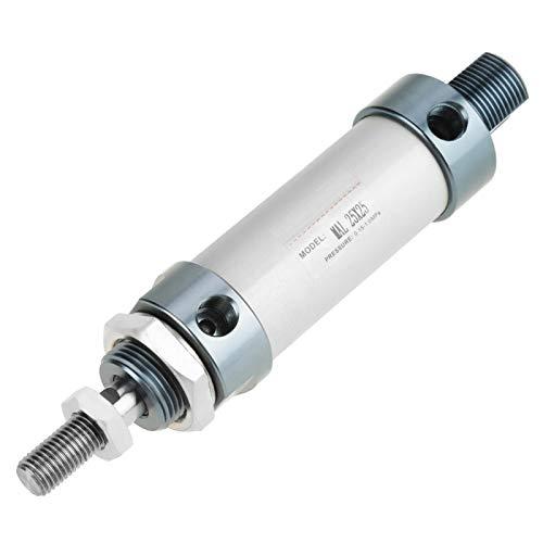 Luftpneumatikzylinder Luftzylinder Zwei-Wege-Dichtung Pneumatikzylinder 25mm Hub Pneumatikzylinder Einzelstangen-Luftzylinder RC ROBOT Industriemaschinen