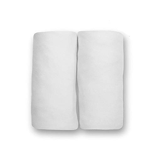 Delta Children Crib Sheet Set 100% Jersey Cotton | 2-Pack | Fitted Cotton Baby and Toddler Universal...