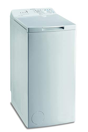 Privileg PWT L60300 DE/N Toplader Waschmaschine / 6 kg / 1000 UpM/Turn&Go/Rapid Wash/Extra Waschen/Startzeitvorwahl/Wolle-Programm/Energy Saver/Mehrfachwasserschutz+, Weiß