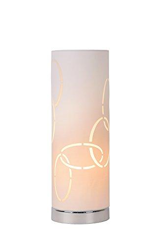 Lucide VERA - Lampe De Table - Ø 12 cm - Blanc