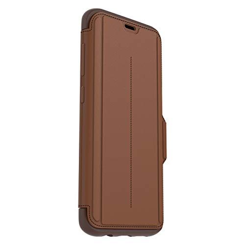 OtterBox Strada Etui - Elegante, sturzsichere Folio Schutzhülle aus echtem Leder für Galaxy S8 +, braun
