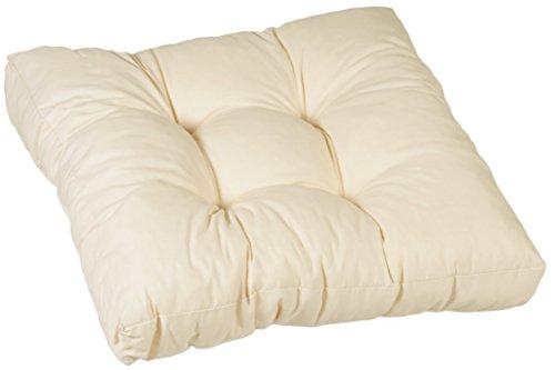 beo 069922 Lounge Coussin Qualité, élégant et Facile d'entretien, Grand Confort, Env. 60 x 60 cm, épaisseur Env. 13 cm