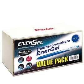 Valuepack 20 + 4 Roller ENERGel Slim BL437 azul 0,7 mm Pentel