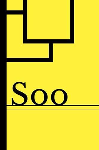 Soo: Blank Lined Journal & Diary for Writing & Notes | Customized Name Soo Gifts | 6x9 - 120 Pages Notebook