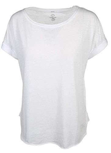 Better Rich Damen Shirt mit Ärmelaufschlag Größe S Weiß (weiß)