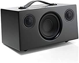 Audio Pro Addon C5A Alexa Built in Voice Controlled Compact High Fidelity WiFi Bluetooth Wireless Multi-Room Smart Speakers - Black