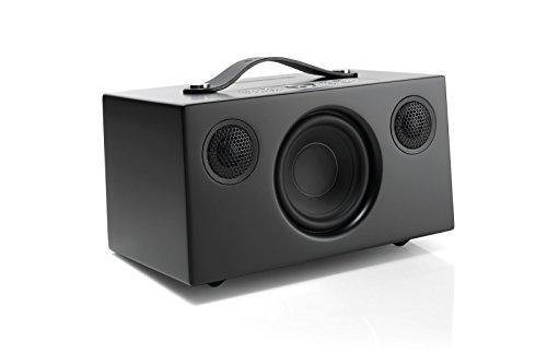 Altavoz Portátil Multiroom, Portable, Amazon Alexa, Control de Voz, Wi-Fi, Altavoz Bluetooth, Apple Air Play, Spotify Connect, Audio Pro, Addon C5A, Negro