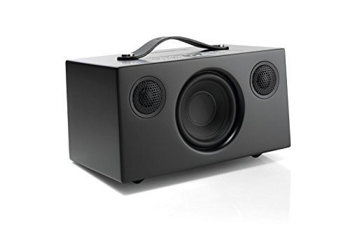 Audio Pro Addon C5 - Altavoz, con Alexa Integrada, (40 Watt, Multiroom, Stereo, WiFi, Bluetooth, App, Air Play, Music Apps (Spotify, Tidal, Deezer), radio por internet como TuneIn) Color Negro