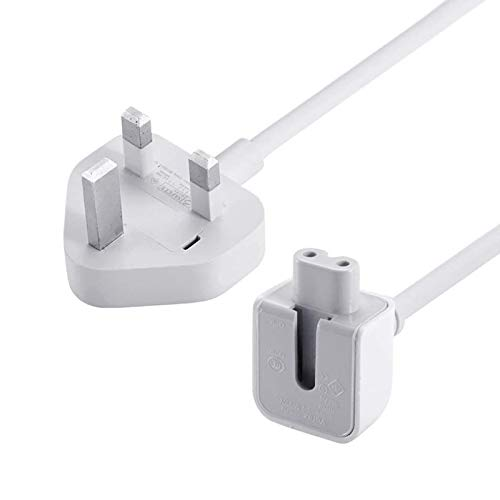 TOPSELL Power Adapter Extension Cord Wall Cord Cable Compatible for Apple Mac iBook MacBook Pro MacBook Power Adapters 10W,12W,29W,45W, 60W, 85W MagSafe 1 or MagSafe 2 Models(6 Feet)