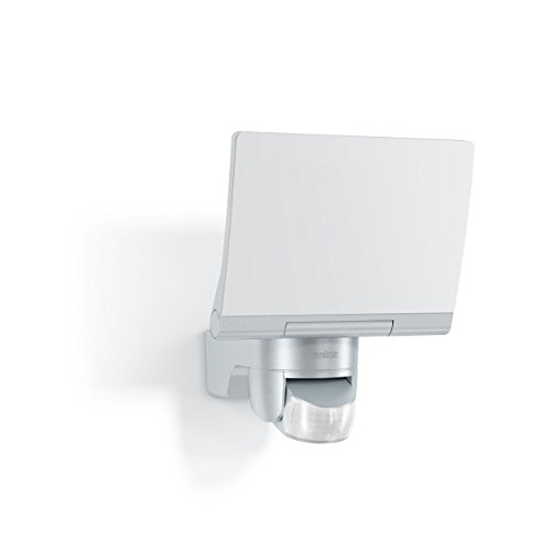 Steinel LED-Strahler XLED Home 2 XL silber, 1608 lm, 140° Bewegungsmelder, 20 W, voll schwenkbar, LED Flutlicht, 4000 K