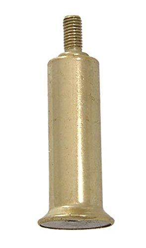 """B&P Lamp 2"""" Ht, Brass Plated Steel Riser"""