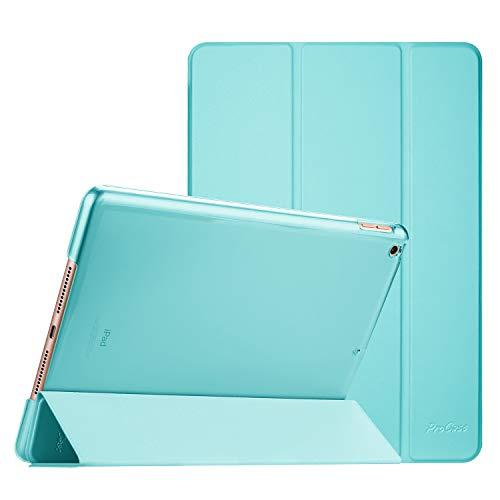 ProCase Hülle für iPad Mini 5 Ultra Dünn Smart, Leichte Stand Schutzhülle Shell mit Translucent Frosted Rückhülle für 7.9