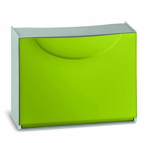 Terry Harmony Box - Zapatero (plástico, 51 x 19 x 39 cm), color verde