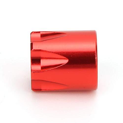 JYLSYMJa Tapa Central de Llantas de Rueda RC, 4 Piezas de Llantas de Rueda, Tapa Central, Accesorio de actualización M, 4 Piezas de Tuerca(Rojo)