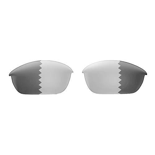 Walleva Replacement Lenses for Oakley Half Jacket 2.0 Sunglasses