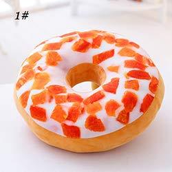 Mhtop Almohada de Felpa Donut, Juguete para sofá, Suelo, cojín para Asiento...