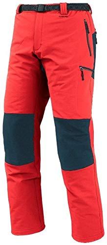 Trango Pant. Long RUWE DS – Pantalon, Homme, Rouge (Rouge feu/Ombre Noire)