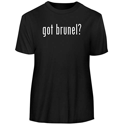 One Legging it Around got Brunel? - Men's Funny Soft Adult Tee T-Shirt, Black, Large