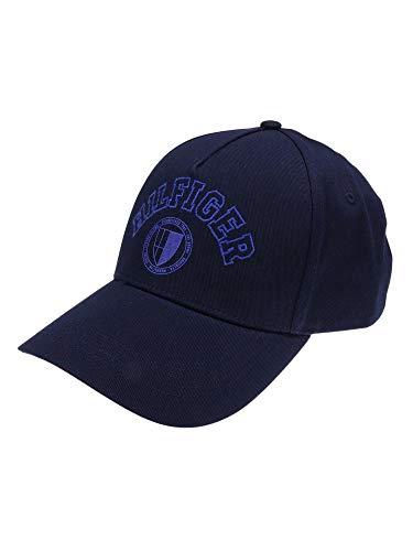Tommy Hilfiger AM0AM07349 Hilfiger - Gorra para hombre (talla única), color azul