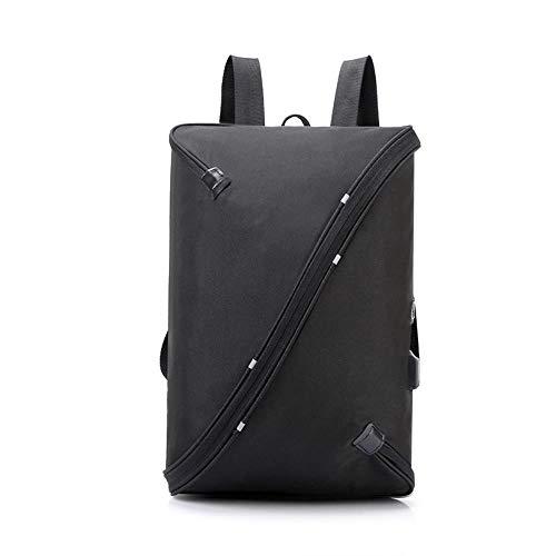 盗難バックパックのラップトップバッグ事業を充電男性と女性,黒,14インチ