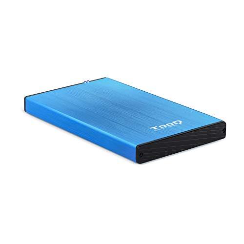 TooQ TQE-2527BL - Carcasa para discos duros HDD de 2.5