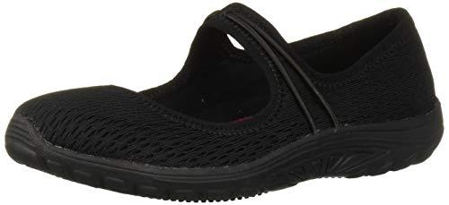 Skechers Women's Sulloway Health Care Professional Shoe, Black, 8.5 M US