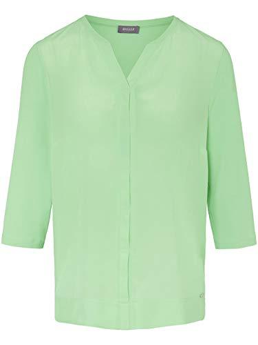 Basler Damen Blusenshirt mit verdeckter Knopfleiste und ¾-Ärmeln