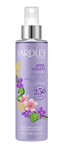 Fragancia April Violets de Yardley London 200 ml