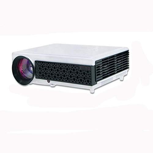 GBYNB Proyector para El Hogar Proyección Interactiva De Juegos Móviles con Pantalla Múltiple 1080P Tecnología Full HD DLP Sistema WiFi Multifunción Soporte Rojo Y Azul 3D