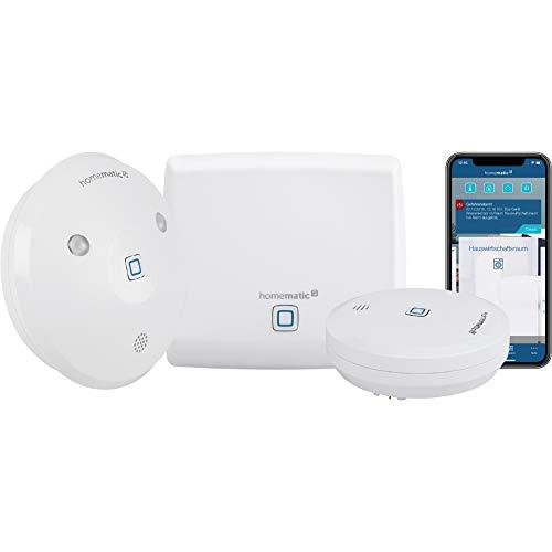 Homematic IP Smart Home Starter Set Wasseralarm - Intelligenter Alarm auch aufs Smartphone, 153405A0