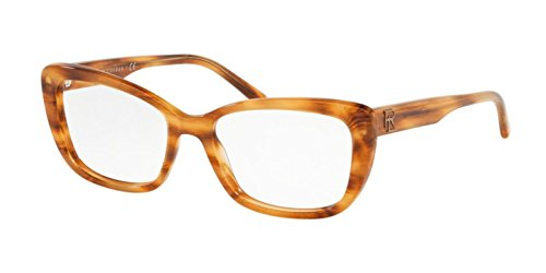 Ralph Lauren 0RL6178 Monturas de gafas, New Striped Havana, 51 para Mujer