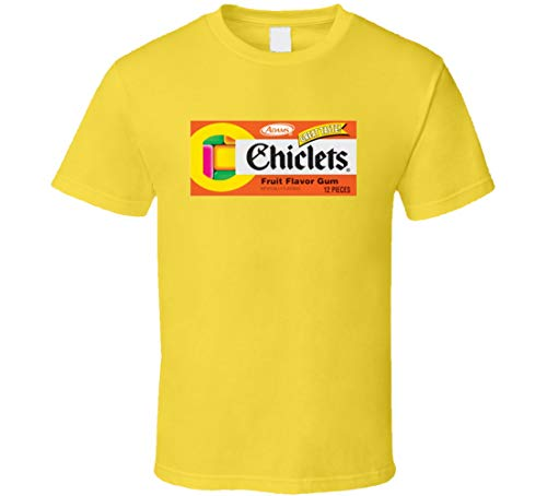 YONGMAO Chiclets Fruit Gum Candy Snack Gift T Shirt Daisy...