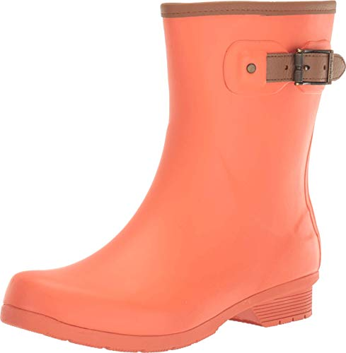 Chooka City Solid Mid Boot Coral 6 M