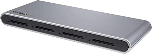 StarTech.com 4-Slot SD Card Reader - USB 3.1 (10Gbps) SD Card Reader - USB-C SD Card Reader w/Support for SD 4.0, UHS-II (4SD4FCRU31C)