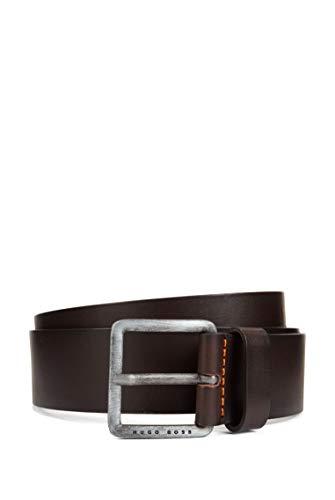 BOSS Jeeko_sz40 10207238 01 Cinturon Hombre Marron Dark Brown