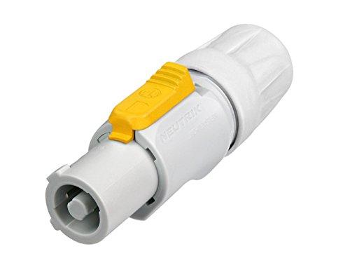 Neutrik NTR-NAC3FCB - Conector (Gris, Poliamida, Polioximetileno (POM), Zinc de acero, UL, VDE, Electroswiss, UL 94 HB, IP 20, EN/IEC 61984, IEC 68-2-20, 26 mm, 73 mm, 26 mm)