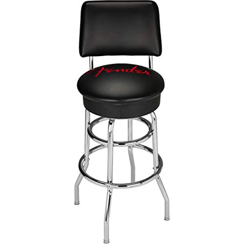 Fender© Vegan Leather Barstool, 34