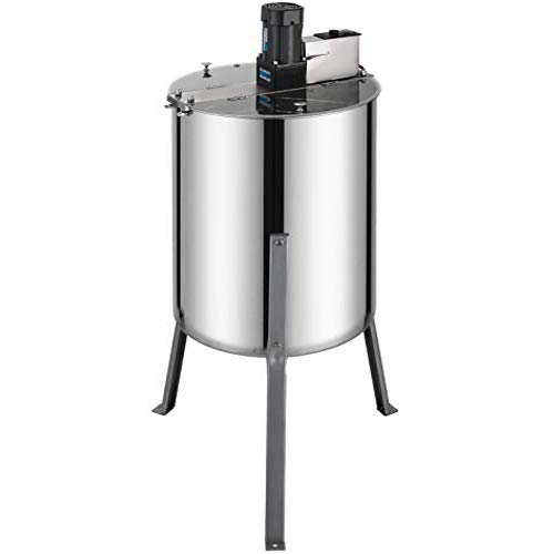 BestEquip Electric Honey Extractor Separator 4 Frame Bee Extractor Stainless Steel Honeycomb Spinner...
