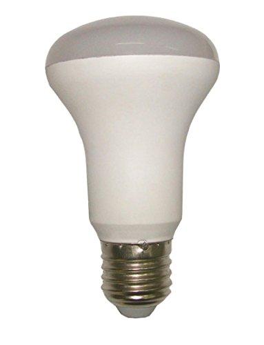 F-Bright Led Lampara reflectora led r63 e27 8w 3000k, 8 W, Blanco Cálido