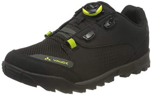 VAUDE Herren Men's AM Downieville Tech Mountainbike Schuhe, Black, 43 EU