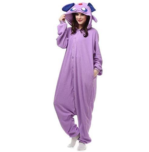 WJCRYPD Pijamas Nuevo Enlace De Partido Bodies Invierno Animal Adulto Fox Caliente Trajes De Pijama De Dibujos Animados del Mono Capucha De La Navidad Qf Shop (Color : 25, Size : S(150-160cm))